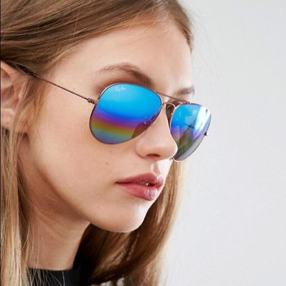 3014b5c0f0 Ray-Ban Rainbow Mirrored Sunglasses. M 5aaf168184b5ce1b8b10a600. Other  Accessories ...